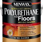 Minwax Polyurethane lakas grindims clear satin